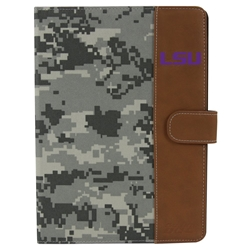 LSU Tigers Camo Folio Case for iPad Air