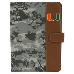 U Miami Hurricanes Camo Folio Case for iPad Air