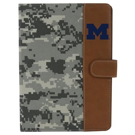 Michigan Wolverines Camo Folio Case for iPad Air