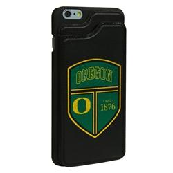 Guard Dog Oregon Ducks Genuine Leather Wallet Phone Case for iPhone 6 Plus / 6s Plus