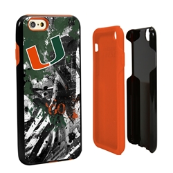 Guard Dog U Miami Hurricanes PD Spirit Hybrid Phone Case for iPhone 6 / 6s