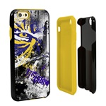 Guard Dog LSU Tigers PD Spirit Hybrid Phone Case for iPhone 6 / 6s with Guard Glass Screen Protector