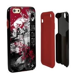 Guard Dog Arkansas Razorbacks PD Spirit Hybrid Phone Case for iPhone 6 / 6s
