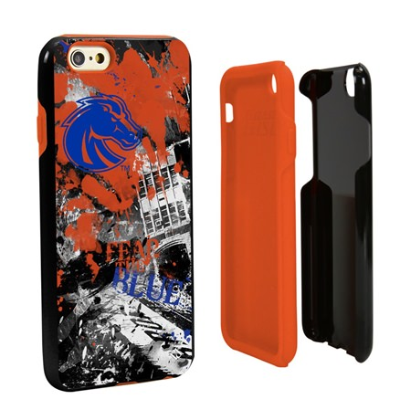 Boise State Broncos PD Spirit Hybrid Case for iPhone 6 / 6s with Guard Glass Screen Protector
