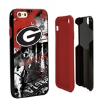 Guard Dog Georgia Bulldogs PD Spirit Hybrid Phone Case for iPhone 6 / 6s