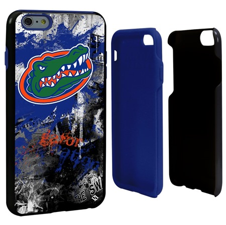 Guard Dog Florida Gators PD Spirit Hybrid Phone Case for iPhone 6 Plus / 6s Plus with Guard Glass Screen Protector