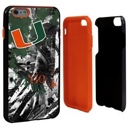 Guard Dog U Miami Hurricanes PD Spirit Hybrid Phone Case for iPhone 6 Plus / 6s Plus