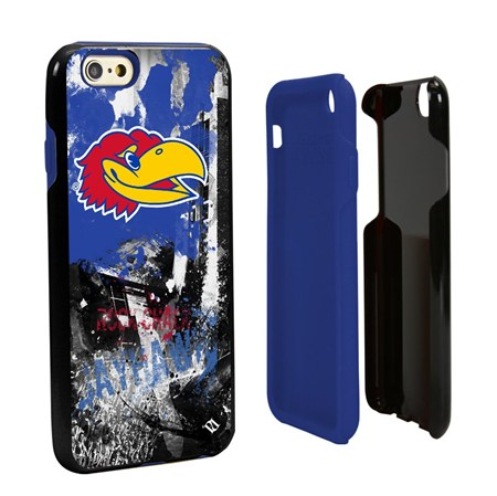 Guard Dog Kansas Jayhawks PD Spirit Hybrid Phone Case for iPhone 6 / 6s