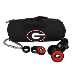 Georgia Bulldogs 3 in 1 Camera Lens Kit