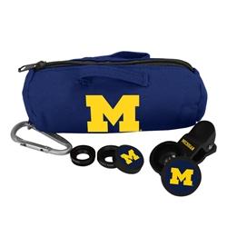 Michigan Wolverines 3 in 1 Camera Lens Kit