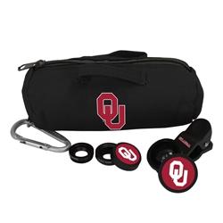 Oklahoma Sooners 3 in 1 Camera Lens Kit