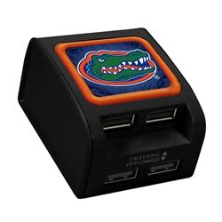 Florida Gators WP-400X 4-Port USB Wall Charger