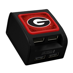 Georgia Bulldogs WP-400X 4-Port USB Wall Charger