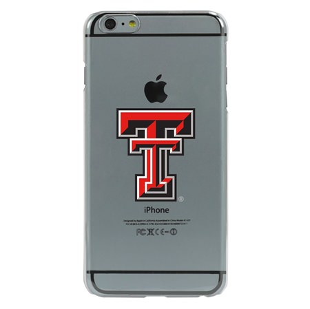 Guard Dog Texas Tech Red Raiders Clear Phone Case for iPhone 6 Plus / 6s Plus