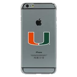 Guard Dog U Miami Hurricanes Clear Phone Case for iPhone 6 Plus / 6s Plus