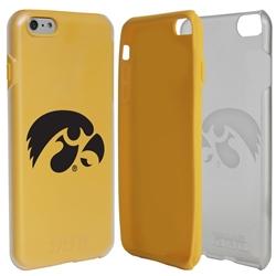 Guard Dog Iowa Hawkeyes Clear Hybrid Phone Case for iPhone 6 Plus / 6s Plus