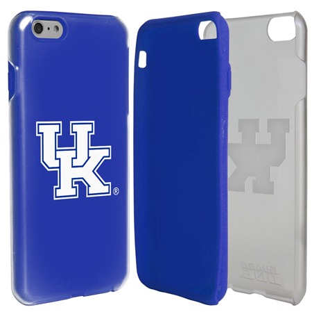 Guard Dog Kentucky Wildcats Clear Hybrid Phone Case for iPhone 6 Plus / 6s Plus