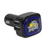 South Dakota State Jackrabbits 4-Port USB Car Charger