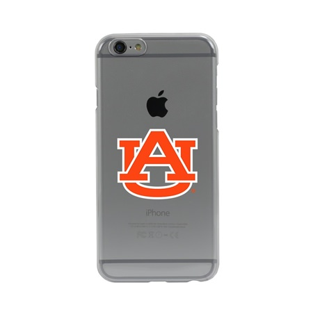 Guard Dog Auburn Tigers Clear Phone Case for iPhone 6 / 6s