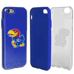 Guard Dog Kansas Jayhawks Clear Hybrid Phone Case for iPhone 6 / 6s