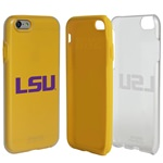Guard Dog LSU Tigers Clear Hybrid Phone Case for iPhone 6 / 6s with Guard Glass Screen Protector