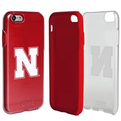 Guard Dog Nebraska Cornhuskers Clear Hybrid Phone Case for iPhone 6 / 6s