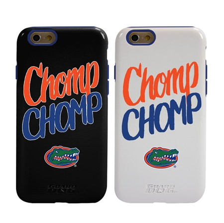 Guard Dog Florida Gators Chomp Chomp Hybrid Phone Case for iPhone 6 / 6s with Guard Glass Screen Protector