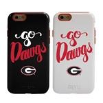 Guard Dog Georgia Bulldogs Go Dawgs Hybrid Phone Case for iPhone 6 / 6s