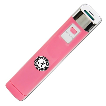 Alabama Crimson Tide Pink APU 2200LS USB Mobile Charger