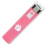 Clemson Tigers Pink APU 2200LS USB Mobile Charger