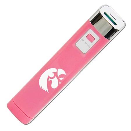 Iowa Hawkeyes Pink APU 2200LS USB Mobile Charger