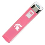 Michigan State Spartans Pink APU 2200LS USB Mobile Charger
