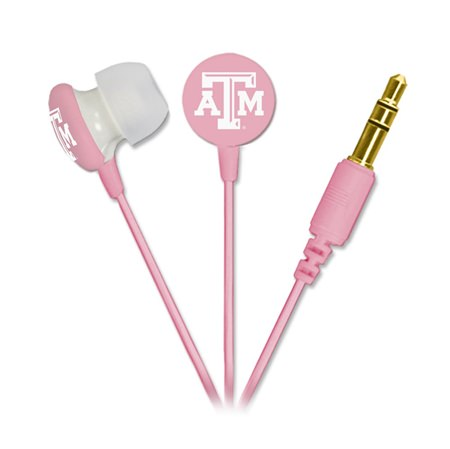 Texas A&M Aggies Pink Ignition Earbuds