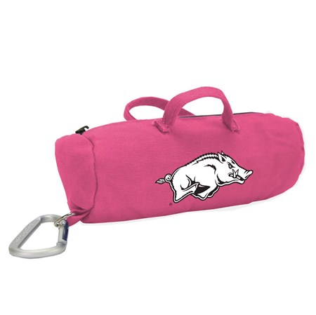 Arkansas Razorbacks Pink Medium StuffleBag