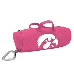 Iowa Hawkeyes Pink Medium StuffleBag