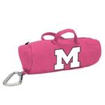 Michigan Wolverines Pink Medium StuffleBag