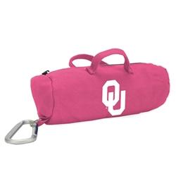 Oklahoma Sooners Pink Medium StuffleBag