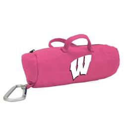 Wisconsin Badgers Pink Medium StuffleBag