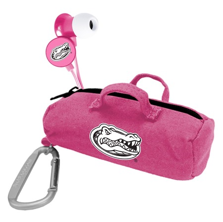 Florida Gators Pink Scorch Earbuds with BudBag