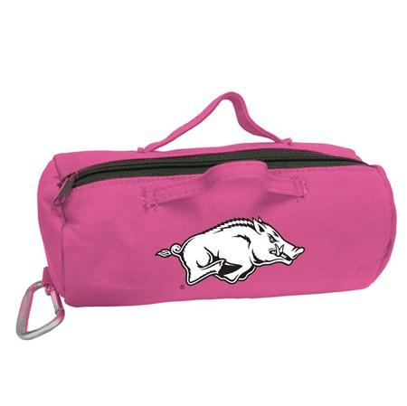 Arkansas Razorbacks Pink Large StuffleBag