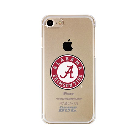 Guard Dog Alabama Crimson Tide Clear Phone Case for iPhone 7/8