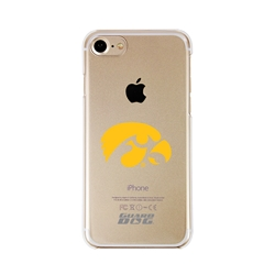 Guard Dog Iowa Hawkeyes Clear Phone Case for iPhone 7/8/SE
