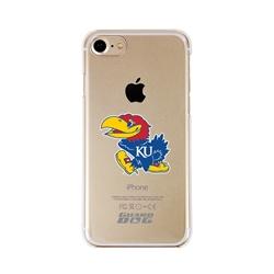 Guard Dog Kansas Jayhawks Clear Phone Case for iPhone 7/8/SE