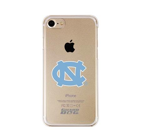 Guard Dog North Carolina Tar Heels Clear Phone Case for iPhone 7/8/SE