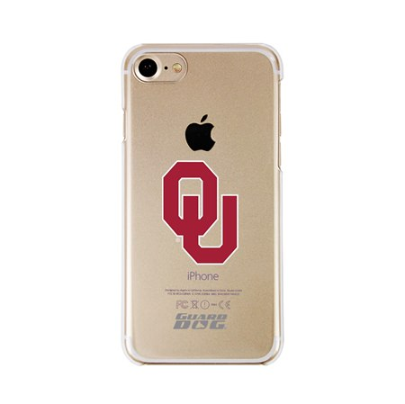 Guard Dog Oklahoma Sooners Clear Phone Case for iPhone 7/8