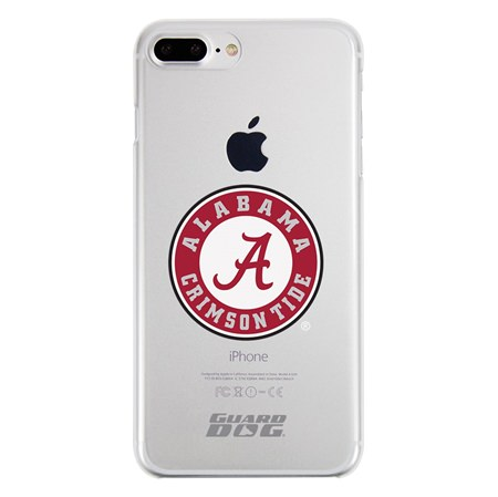 Guard Dog Alabama Crimson Tide Clear Phone Case for iPhone 7 Plus/8 Plus