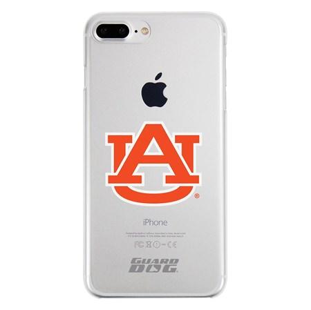 Guard Dog Auburn Tigers Clear Phone Case for iPhone 7 Plus/8 Plus