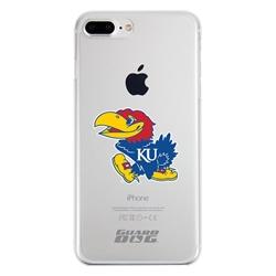 Guard Dog Kansas Jayhawks Clear Phone Case for iPhone 7 Plus/8 Plus