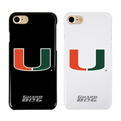Guard Dog U Miami Hurricanes Phone Case for iPhone 7/8/SE