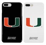 Guard Dog U Miami Hurricanes Phone Case for iPhone 7 Plus/8 Plus